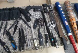 Arsenal de armas brancas - Mogi das Cruzes