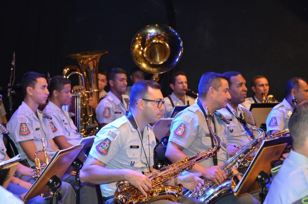 Bandas regimentais da PM SP