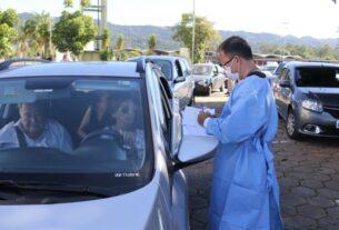 Drive Thru - Vacinação da Gripe