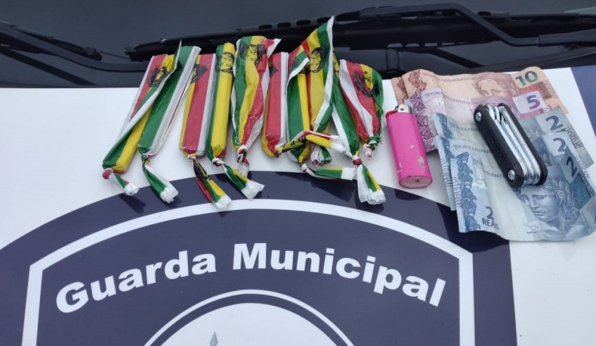 Drogas apreendidas no Parque Botyra