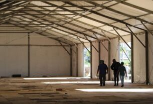 Hospital de campanha de Mogi das Cruzes