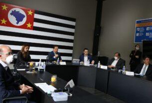 Reunião do Governo de SP