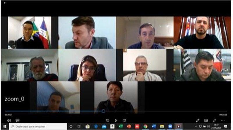 Reunião de prefeitos Condemat