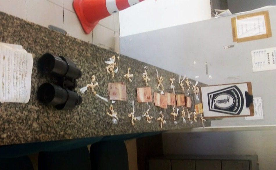 Drogas apreendidas pela GCM de Mogi no Botujuru