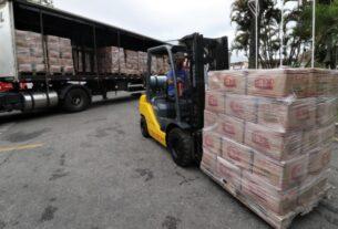 Kits de alimentação do Governo de SP
