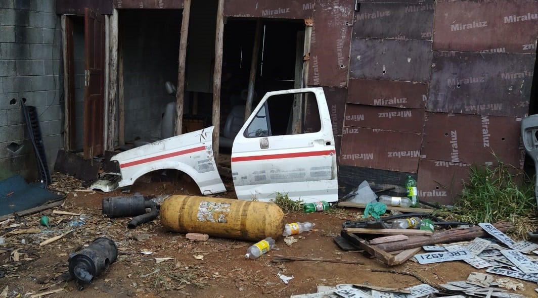 Desmanche de veículos de Mogi das Cruzes