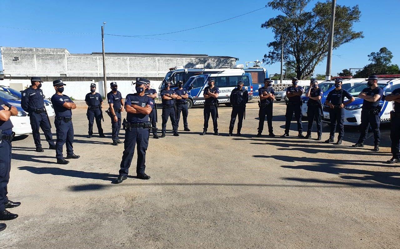 Guardas municipais de Mogi das Cruzes